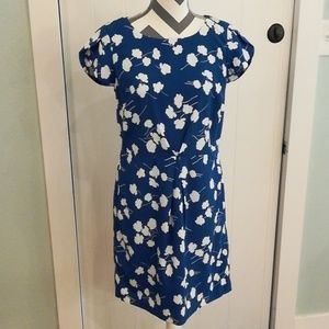 Tommy Hilfiger Blue Floral Dress Sz 8